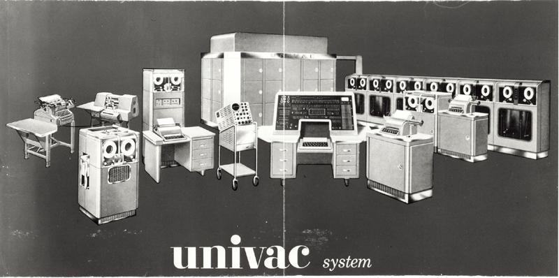 Univac Computer Univac 1 Computer