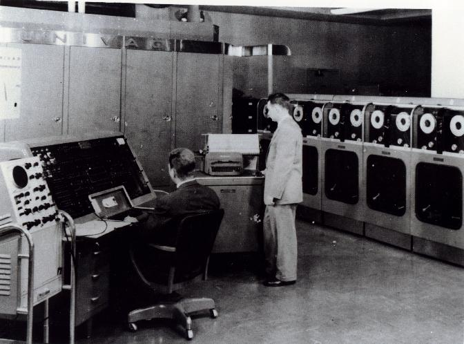 an essay on the synthesis of the univac computer